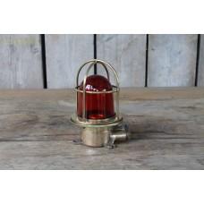 Vintage Bulkhead Light Red