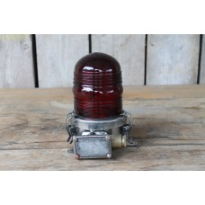 Ship Light Stainless Steel Red