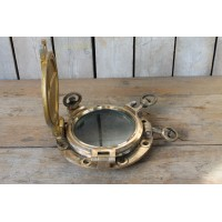 Antique Brass Ship Porthole